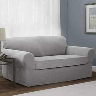 Maytex Connor Box Cushion Sofa Slipcover