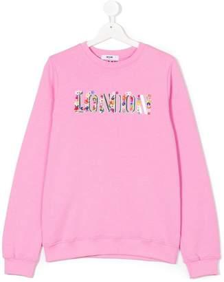 MSGM Teen London sweater