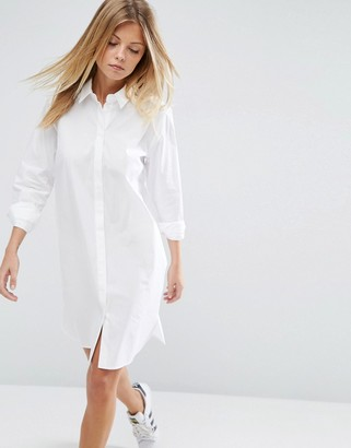 ASOS Cotton Shirt Dress $40 thestylecure.com