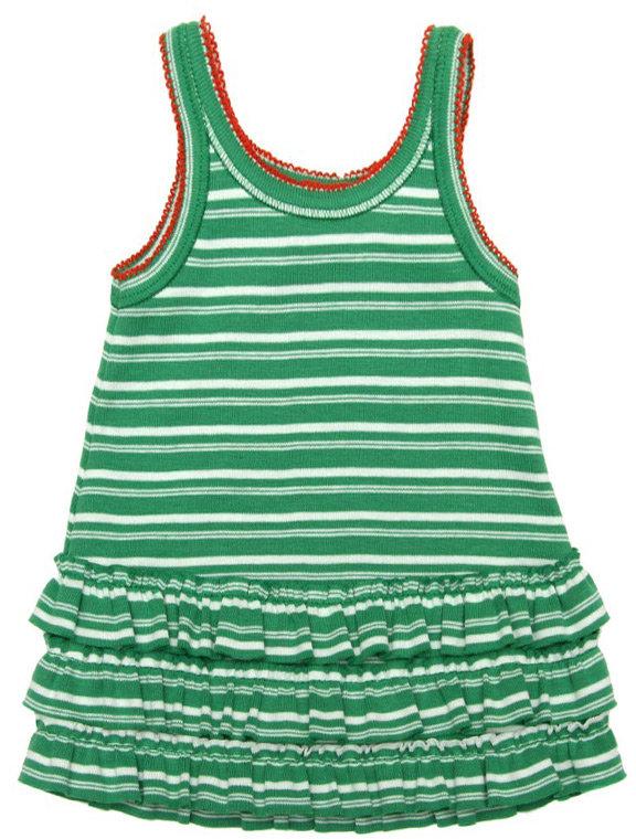 Absorba Vintage Green Stripe Sundress
