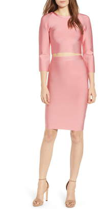 Sentimental NY Two-Piece Body-Con Dress