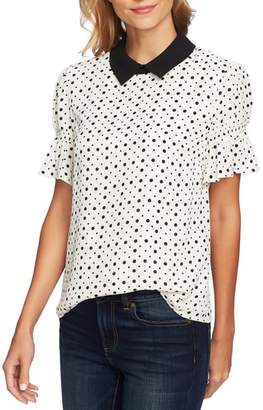 CeCe Collared Party Top