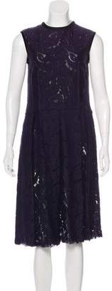 Lanvin Lace Midi Dress