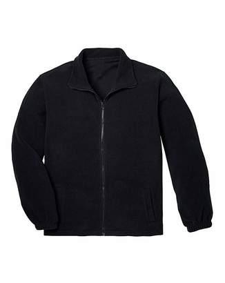 Capsule Black Full Zip Fleece R