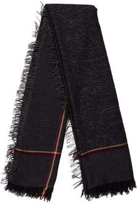 Etro Woven Printed Shawl