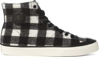 Ralph Lauren Solomon Flannel Sneaker