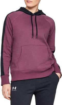 Under Armour Rival Fleece Logo Sleeve Novelty Hoodie