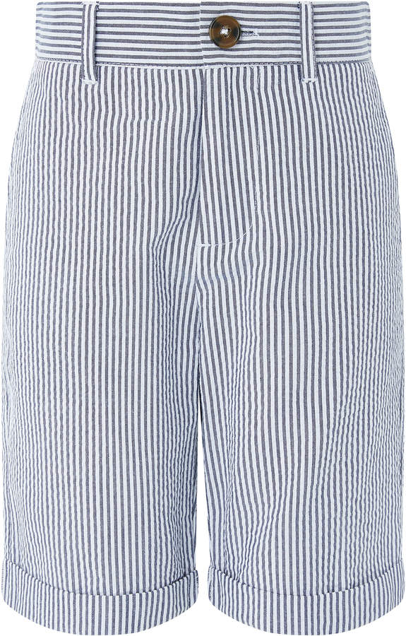 Benson Seersucker Stripe Shorts