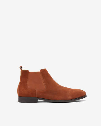 Express Genuine Suede Chelsea Boot