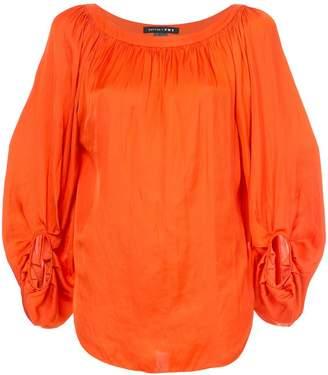 Smythe ruchéd detail blouse