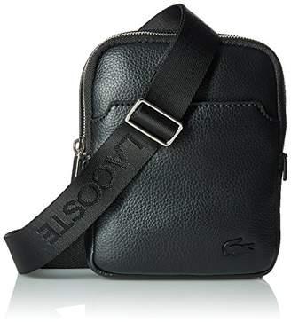 Lacoste Men''s NH1739GL Cross-Body Bag, (Black)