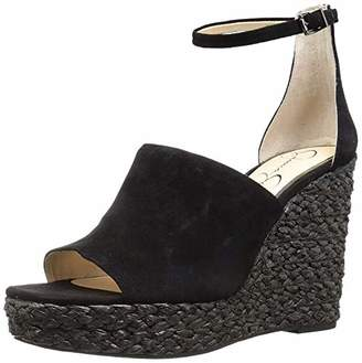 72374d1a746 Jessica Simpson Platform Wedge With Ankle Strap - ShopStyle