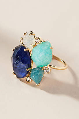 Anthropologie River Rapids Ring
