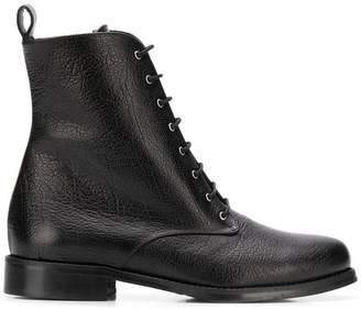 Fabio Rusconi lace-up combat boots