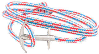 Made In Great Britain 925 Admiral Rope Anchor Bracelet
