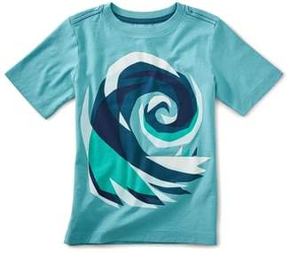 Tea Collection Crashing Wave Graphic T-Shirt