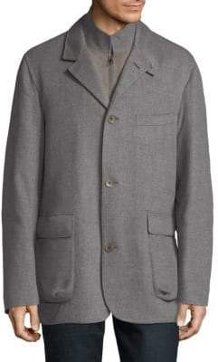 Loro Piana Mock Layered Jacket