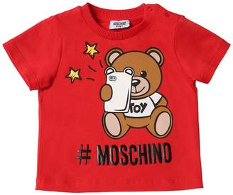 Moschino Printed Cotton T-Shirt