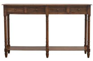 Co Darby Home Colesberry Hallway 4 Drawer Console Table with Turned Feet