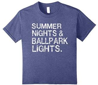 Summer Nights and Ballpark Lights T-Shirts