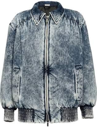 Miu Miu stonewashed denim jacket