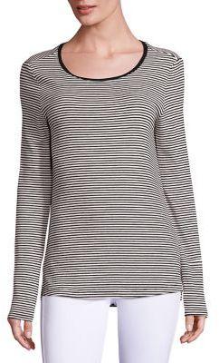 PAIGE Alessandra Striped T-Shirt $95 thestylecure.com
