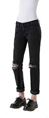 Big Star Women's Kate Mid-Rise Straight Leg Jean