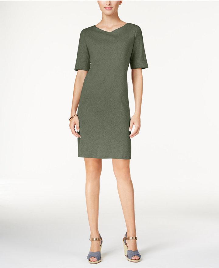 Karen Scott T-Shirt Dress, Only at Macy's 5