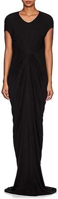 Rick Owens Women's Draped Jersey Dress - Black
