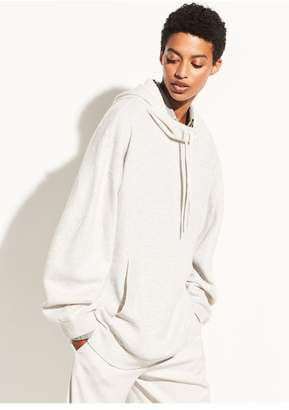 Vince Double Layer Cashmere Hoodie