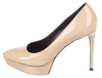 Saint Laurent Patent Leather High Heel Pumps