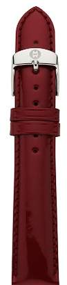 Michele Patent Leather Watch Strap, 18mm