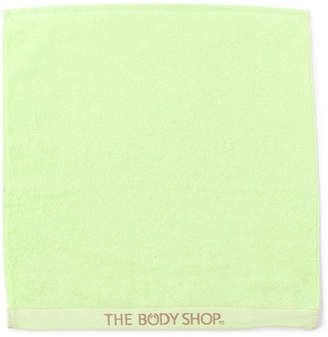 The Body Shop (ザ ボディショップ) - ザ・ボディショップ オーガニックコットンハンドタオル グリーン