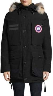 Canada Goose Maccullouch Fur Trimmed Parka