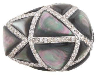 Kara Ross Large Maze Byzantine Ring