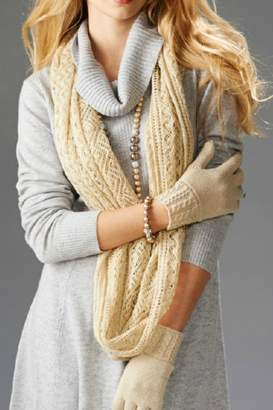 Paige Charlie Open-Knit Infinity Scarf