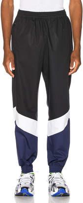 Vetements Mustermann Pants in Black & Blue & White   FWRD
