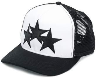 Amiri star patch mesh back cap