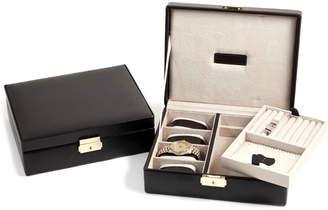 Bey-Berk Bey Berk Leather 4-Watch Case