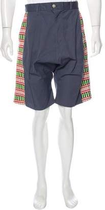 Julien David Embroidered Pod Shorts