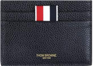 Thom Browne Leather Pebble Grain Card Holder
