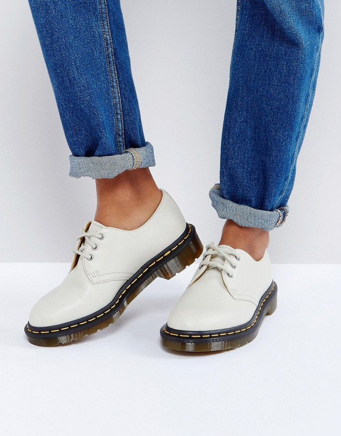 Dr. Martens Dr Martens 1461 Leather Lace Up Flat Shoe