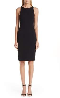 Emporio Armani Stretch Jacquard Dress
