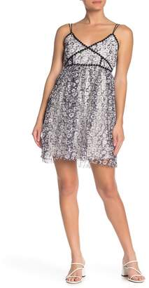 Romeo & Juliet Couture Floral Print Tulle Dress