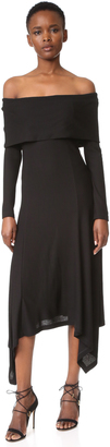 Derek Lam Off Shoulder Dress $1,595 thestylecure.com