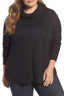 Caslon Cowl Neck Pullover (Plus Size)