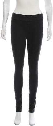 Helmut Lang Casual Mid-Rise Leggings w/ Tags
