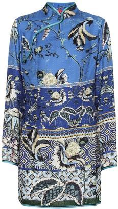 F.R.S For Restless Sleepers Menezio floral silk-blend dress