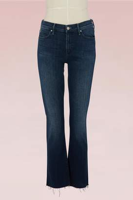 Mother Cotton mid-rise jeans