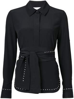 Chloé rhinestone-embellished blouse